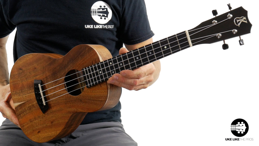 "Kanile'a K-1 T Deluxe Natural Tenor Ukulele Hawaiian Koa ""Cherokee"" Satin Finish"