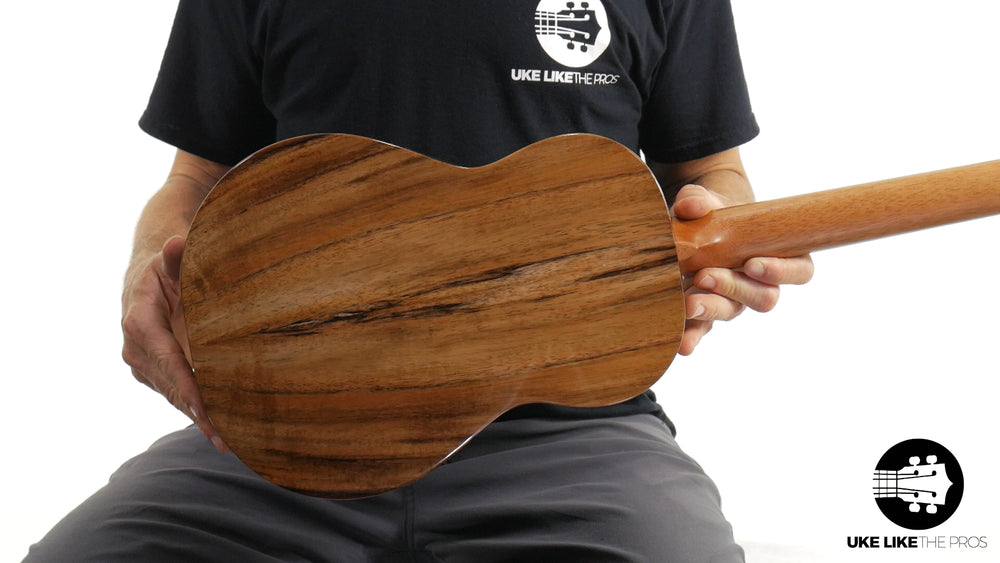 "Kanile'a K-1 B Baritone Ukulele Pack Solid Koa ""Skylander"" Made In Hawaii"