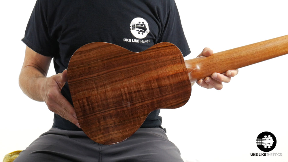 "Kanile'a K-1 GL6 DLX Deluxe Guitarlele Solid Koa ""Virginia"" Made In Hawaii"