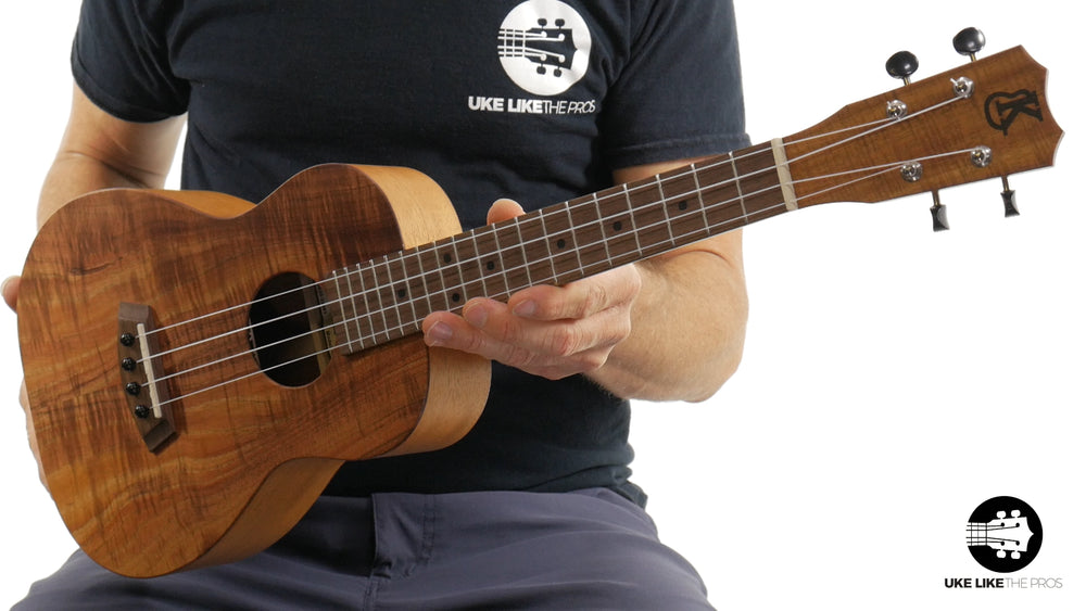 "Kanilea OHA-T Premium Koa Tenor Ukulele ""Flow"" Made in Hawaii"