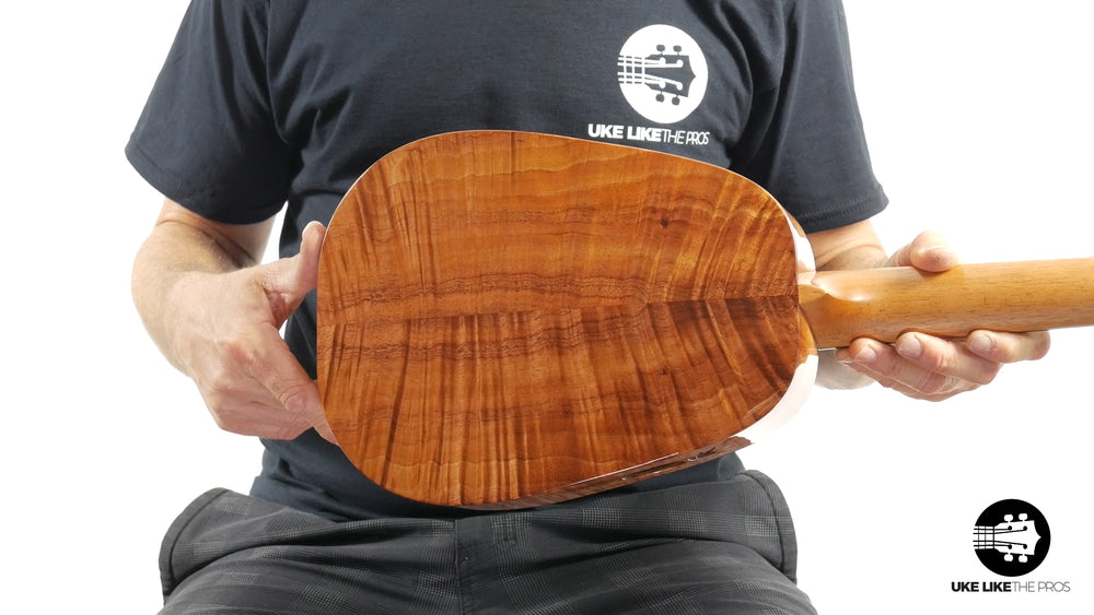 "Kanile'a 2019 Platinum Edition Solid Koa Pineapple Tenor ""Pineapple Dreams"""