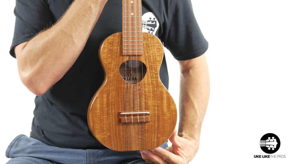 "KoAloha Opio Concert Long Neck Ukulele Acacia KCO-02 ""Eye of the Storm"""