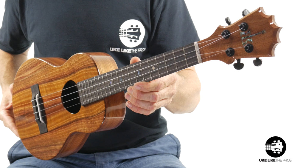 "KoAloha Tenor Ukulele Solid Koa (KTM-00) ""Chocolate Kisses"""