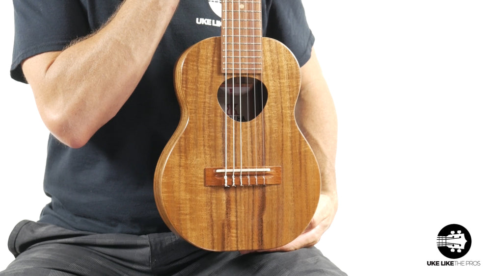 "KoAloha Guitarlele Opio Acacia (KTO-G6) ""Black Magic"""