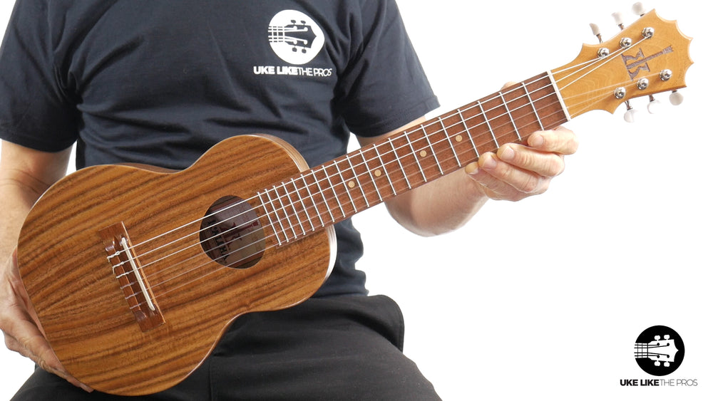 "KoAloha Guitarlele Opio Acacia (KTO-G6) ""Rock Bottom"""