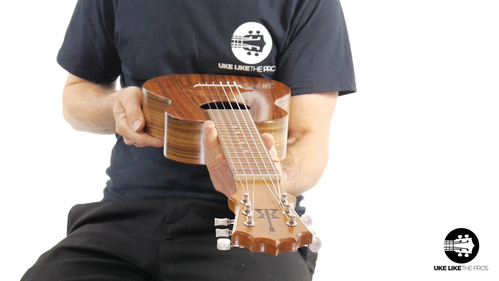 "KoAloha Guitarlele Opio Acacia (KTO-G6) ""Showdown"""