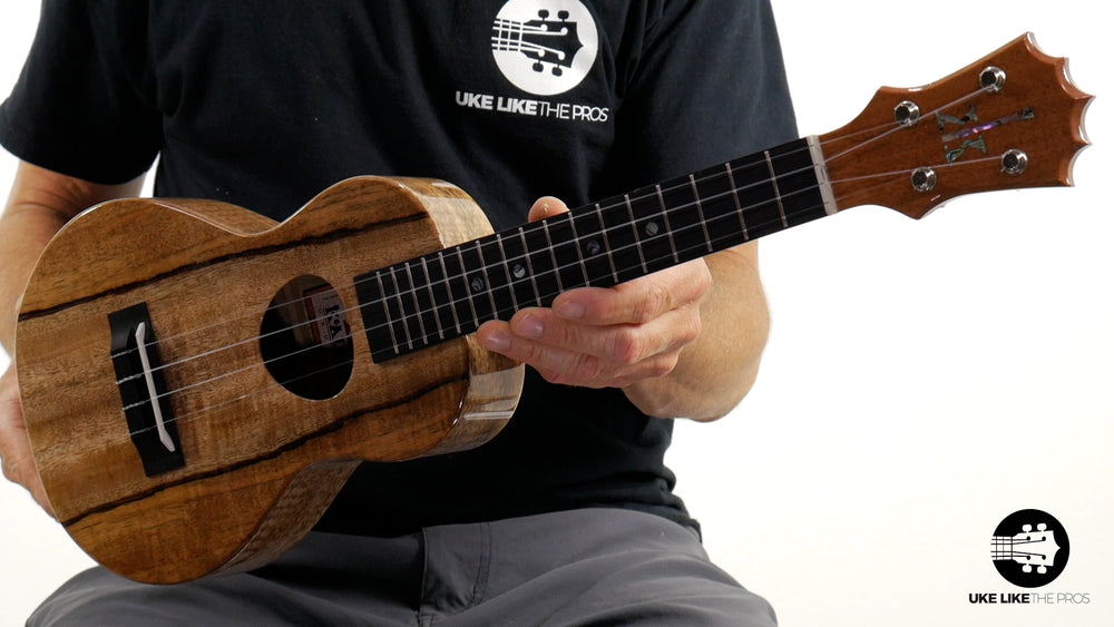 "KoAloha Mango Concert Ukulele KCM-00MG ""Gulfstream"" Made in Hawaii"