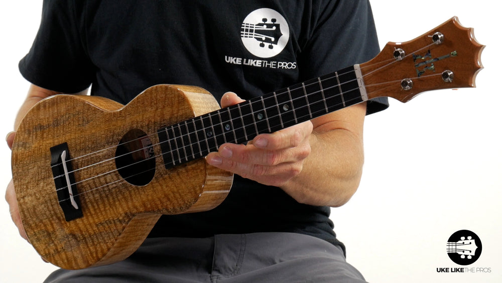 "KoAloha Mango Concert Ukulele KCM-00MG ""Spartan"" Made in Hawaii"