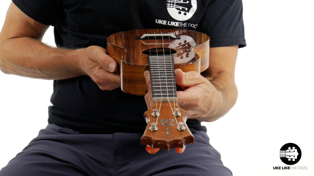 "KoAloha KCM-00 Concert Ukulele Koa ""Blackstone"" Made in Hawaii"