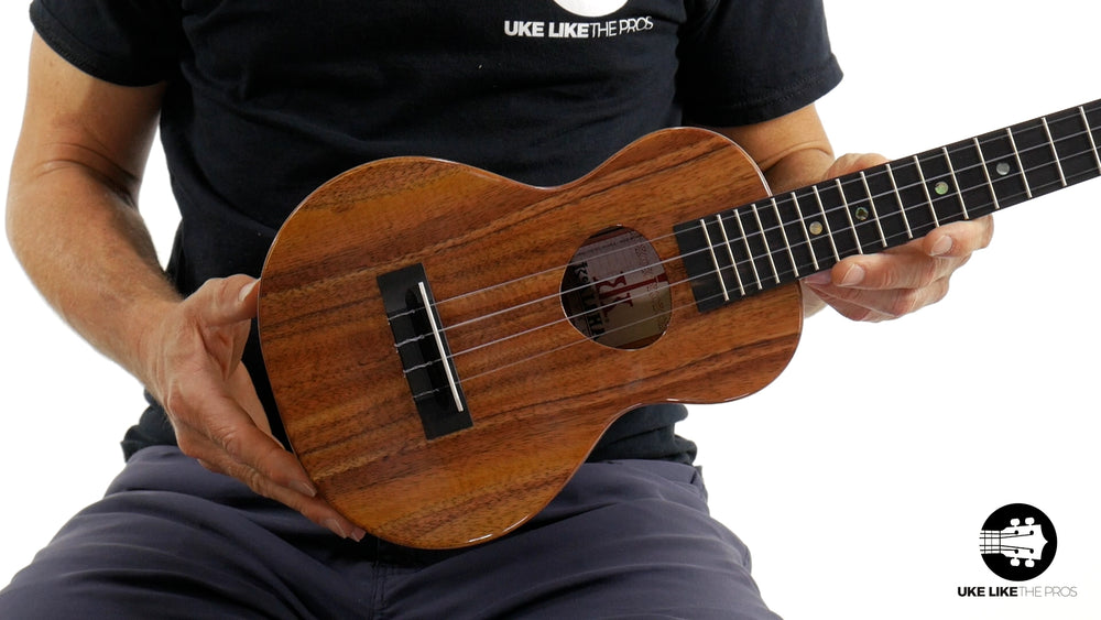 "KoAloha KCM-00 Concert Ukulele Koa ""Ivy"" Made in Hawaii"