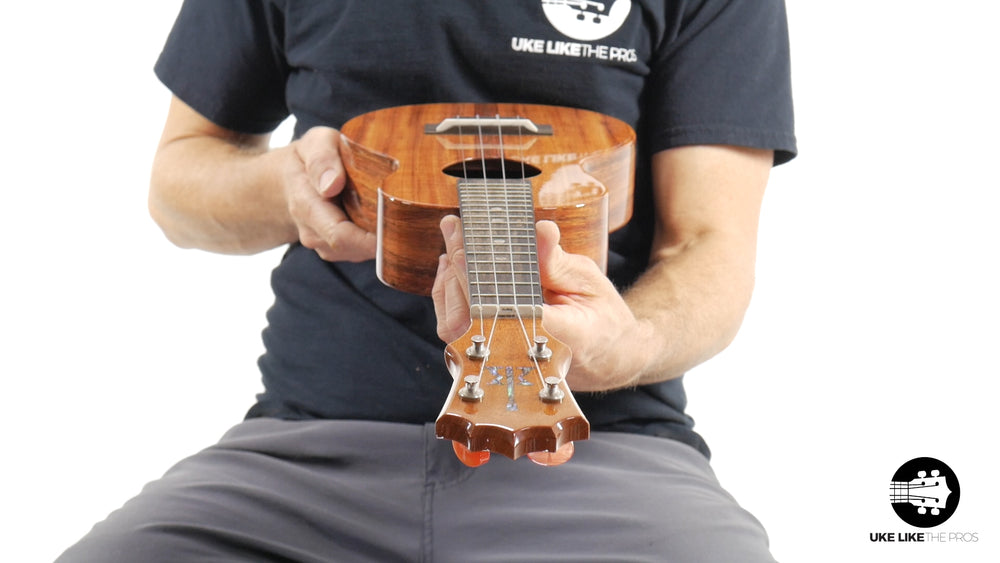"KoAloha Concert Ukulele Koa (KCM-00) ""Lightening McQueen"" Open Box Item 10% Off"