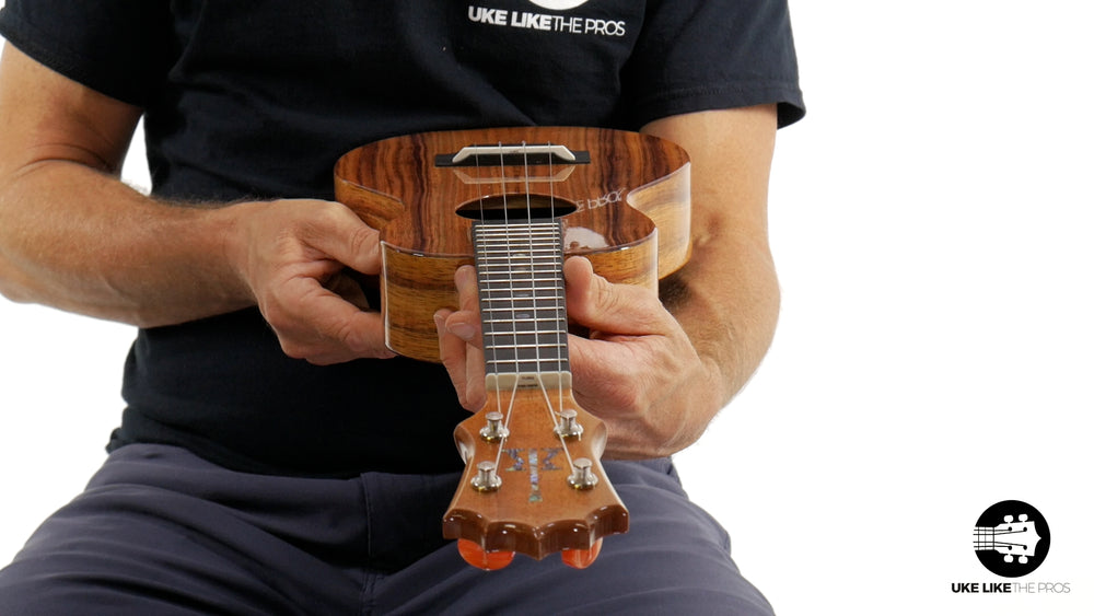 "KoAloha KCM-00 Concert Ukulele Koa ""San Andreas"" Made in Hawaii"