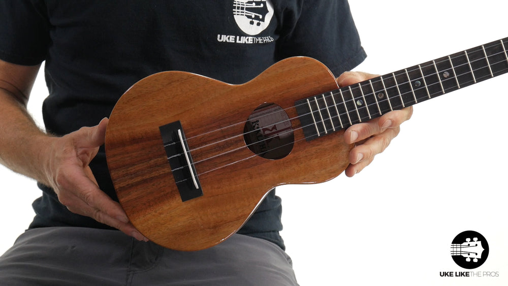 "KoAloha KCM-00 Concert Ukulele Koa ""Tanner"" Made in Hawaii"