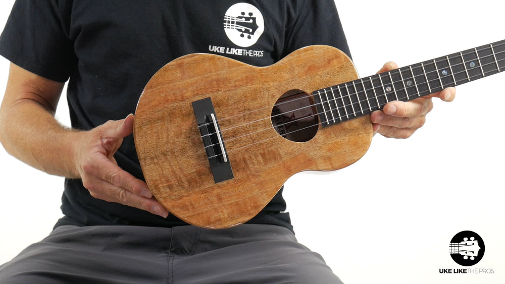 "KoAloha Mango Tenor Ukulele KTM-00MG ""Raptor"" Made in Hawaii"