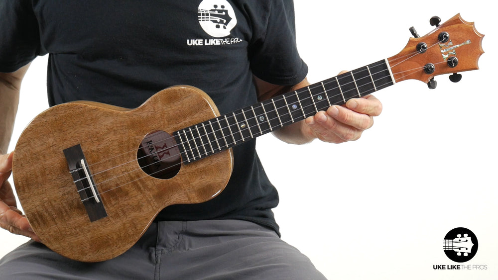 "KoAloha Mango Tenor Ukulele KTM-00MG ""Strike Eagle"" Made in Hawaii"