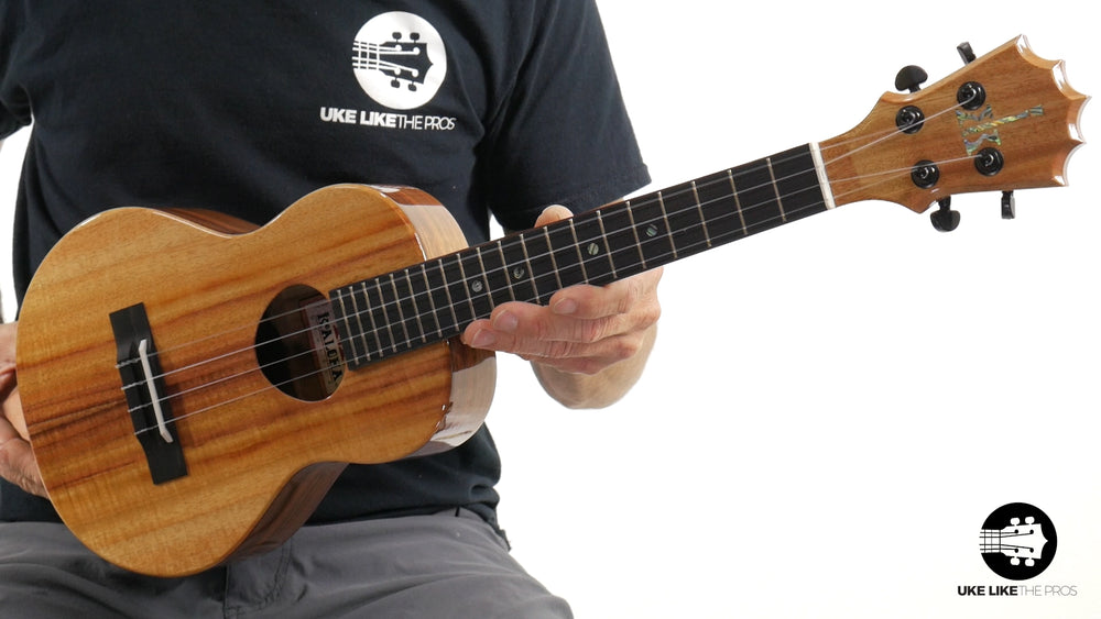 "KoAloha Tenor Ukulele Koa KTM-00 ""Flash"""