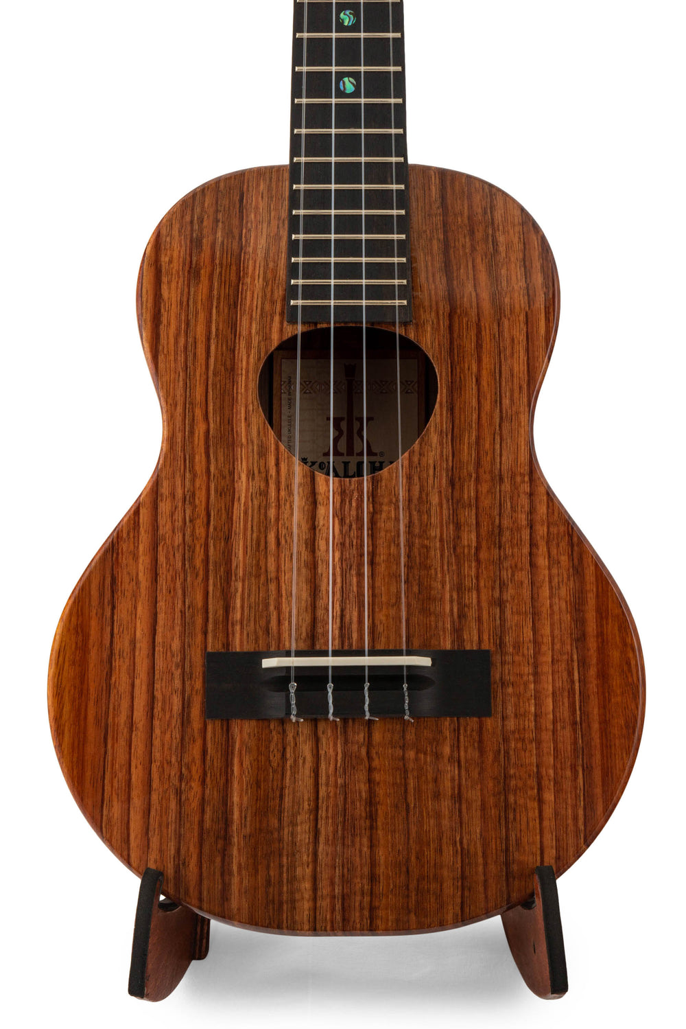 "KoAloha KTM-00 Tenor Ukulele Koa ""Hades"" Made in Hawaii"