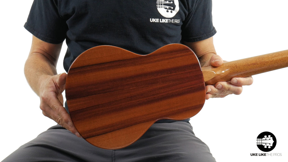 "KoAloha KTM-10 Pikake Tenor Ukulele Koa ""Visuvius"" Made in Hawaii"