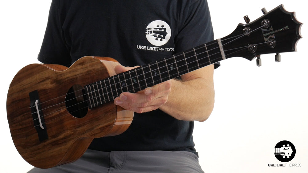 "KoAloha KTM-25 Silver Anniversary Tenor Ukulele Koa ""Call Of The Wild"" #178 Special Limited Edition"