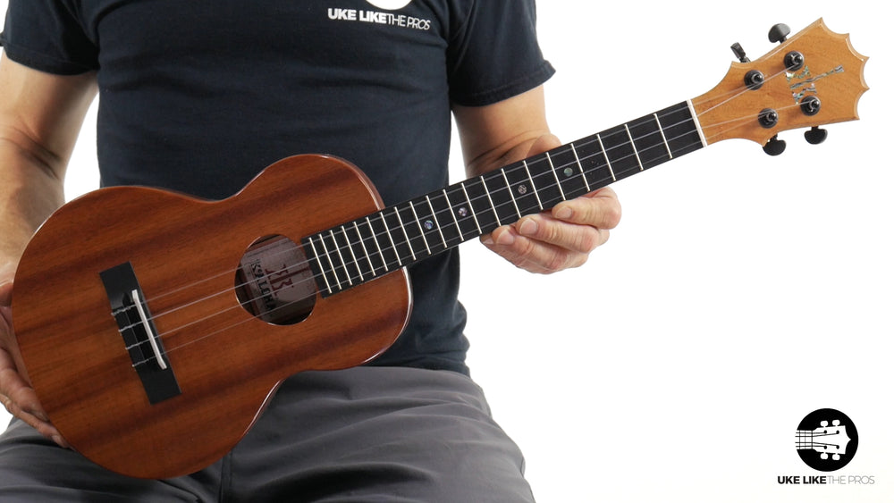 "KoAloha Slimline Tenor Ukulele KTM-S00 Solid Koa ""Jackpot"" Made in Hawaii"