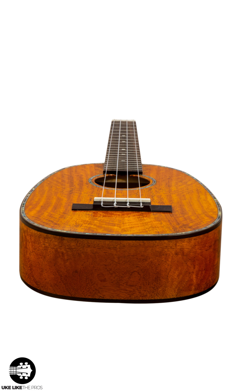 "Ohana PKT-220G Pineapple Tenor Ukulele Solid Mango ""Norrington"""