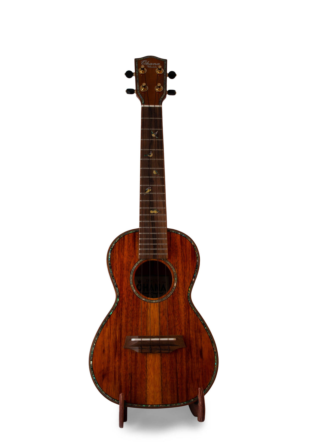 "Ohana CK-370G Limited Edition All Solid Koa Concert Ukulele ""Ramesses"""