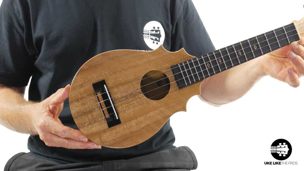 "UkeSA Pineapple Sunday Opio Concert Ukulele Acacia ""Scientist"""