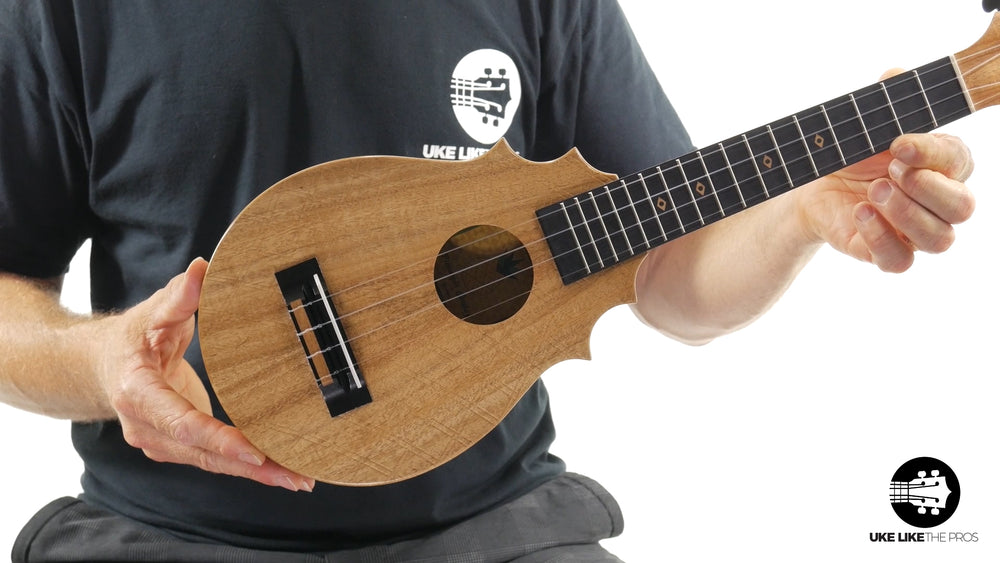 "UkeSA Pineapple Sunday Opio Concert Ukulele Acacia ""Surprise"""