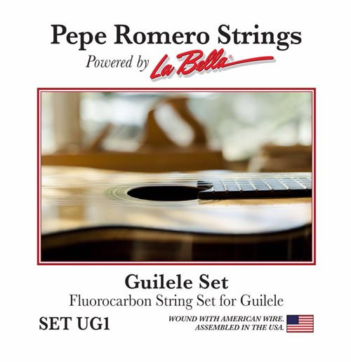 Pepe Romero 6 String Guilele Fluorocarbon Strings UG1 (A to A Tuning)