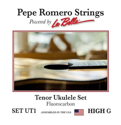Pepe Romero Strings UT1 Tenor Ukulele High G Set