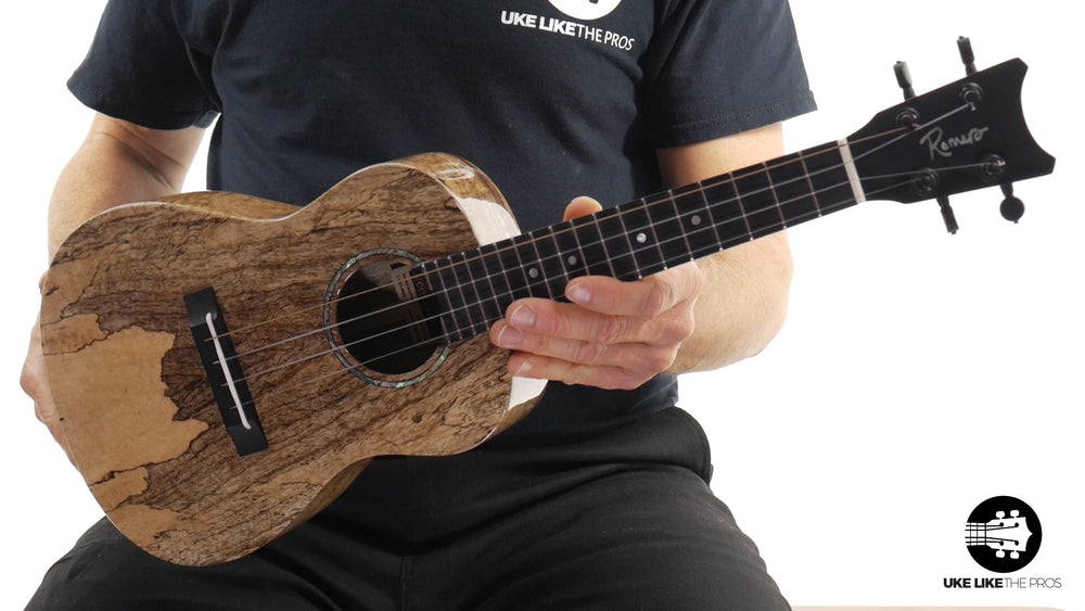 "Romero Creations Concert Spalted Mango Ukulele RC-C-MG ""Incredible"""