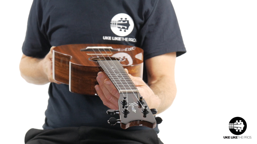 "Romero Creations Grand Tenor Mahogany Ukulele RC-GT-M ""Milky Way"""