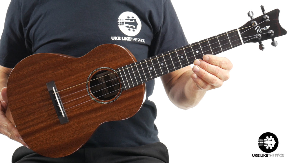 "Romero Creations Grand Tenor Mahogany Ukulele RC-GT-M ""The General"""