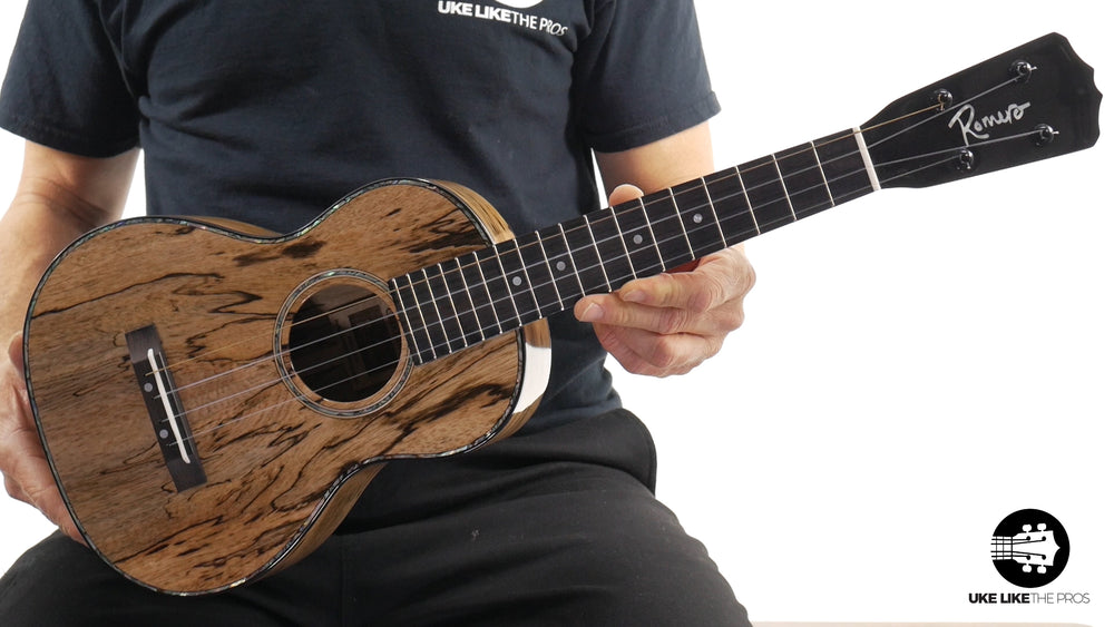 "Romero Creations Replica Tenor Ukulele Spalted Mango RC-R-MG ""Lion's Den"""
