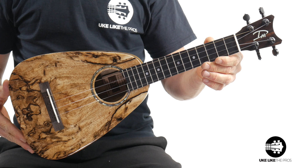"Romero Creations ST Concert Ukulele Spalted Mango RC-ST-MG ""Flame Thrower"""