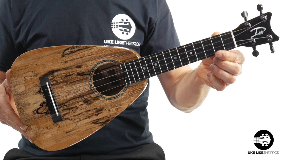 "Romero Creations ST Concert Ukulele Spalted Mango RC-ST-MG ""Melted Butter"""