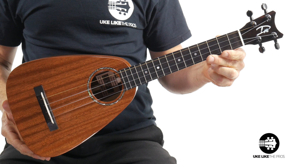 Romero Creations Tiny Tenor Ukulele Mahogany RC-TT-M - Macha