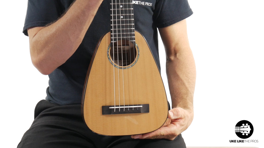 "Romero Creations Tiny Tenor 6 String Guilele RC-TT6-SM Spruce/Mahogany ""Honey Comb"""
