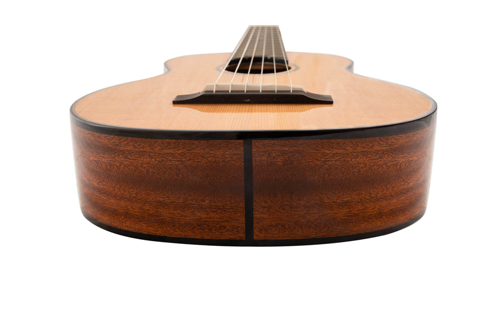 "Romero Creations RC-B6-SM Nylon String Baritone 6-String Guitar/Guilele ""Dorado"" E to E Tuning"