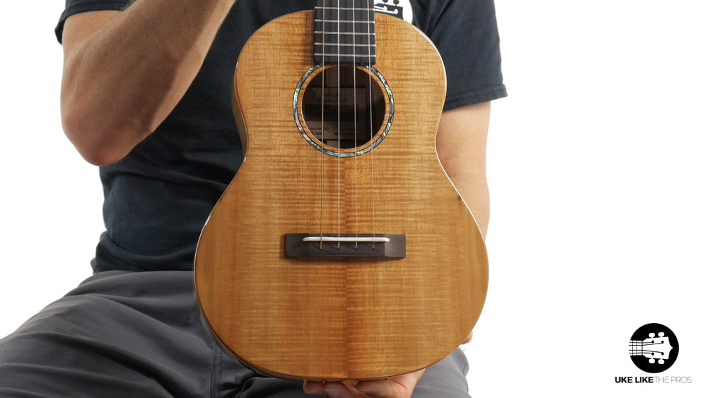 "Romero Creations RC-GT-K Grand Tenor Ukulele Koa ""Warrambool"""