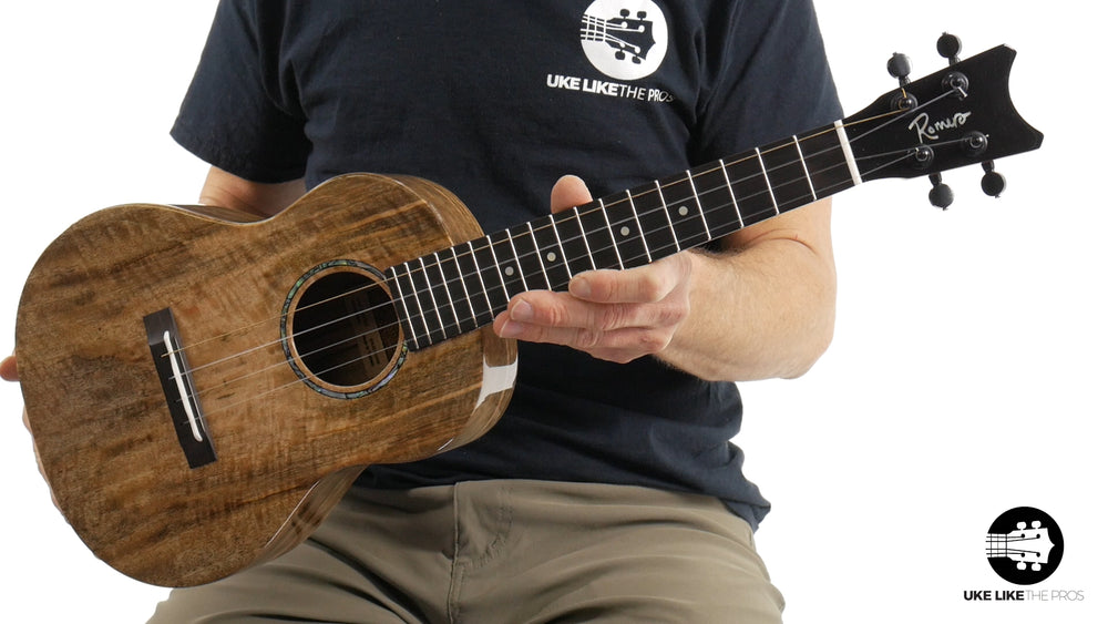 "Romero Creations Grand Tenor Spalted Mango Ukulele RC-GT-MG ""Cardiff"" w/ LR Baggs 5.0 Pickup"