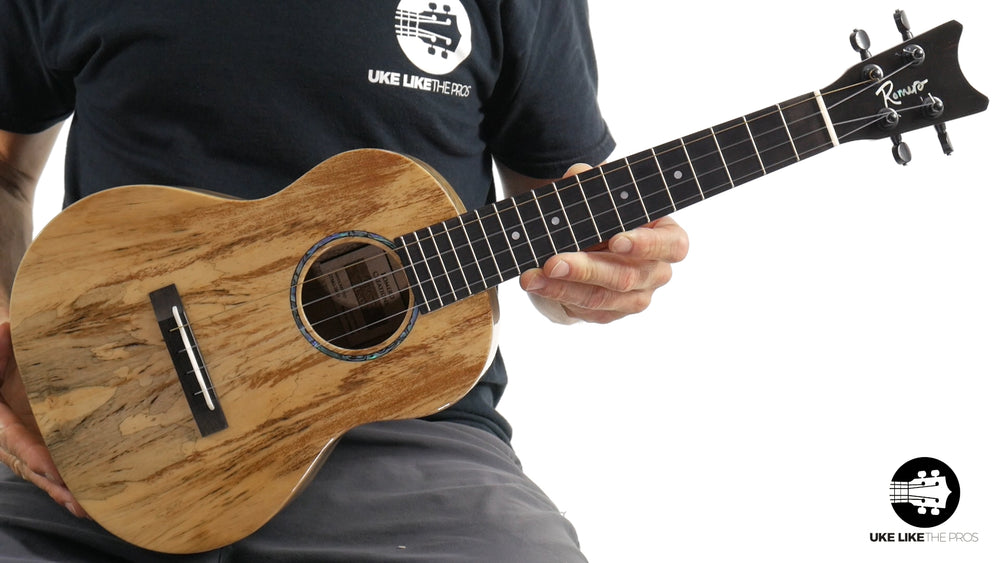 "Romero Creations Grand Tenor Spalted Mango Ukulele RC-GT-MG ""Nullica"""