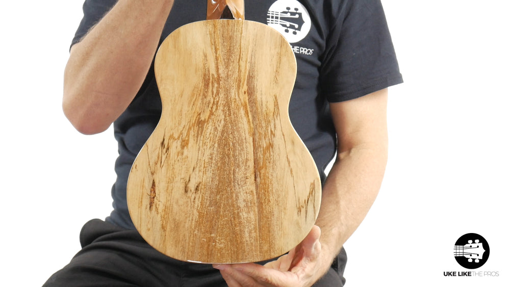 "Romero Creations Grand Tenor Spalted Mango Ukulele RC-GT-MG ""Rock Star"""