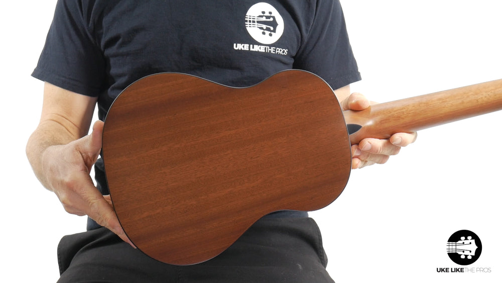 "Romero Creations GT-SML Grand Tenor Spruce Top Ukulele ""Dawn Surprise"" B Stock 10% Off"