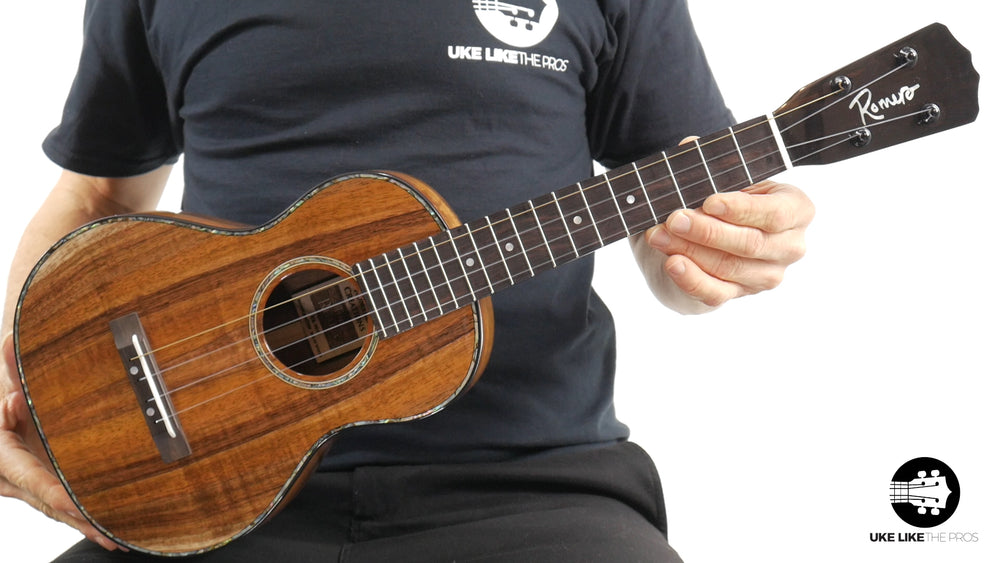 "Romero Creations Replica Tenor Ukulele Koa RC-R-K ""All Star"""