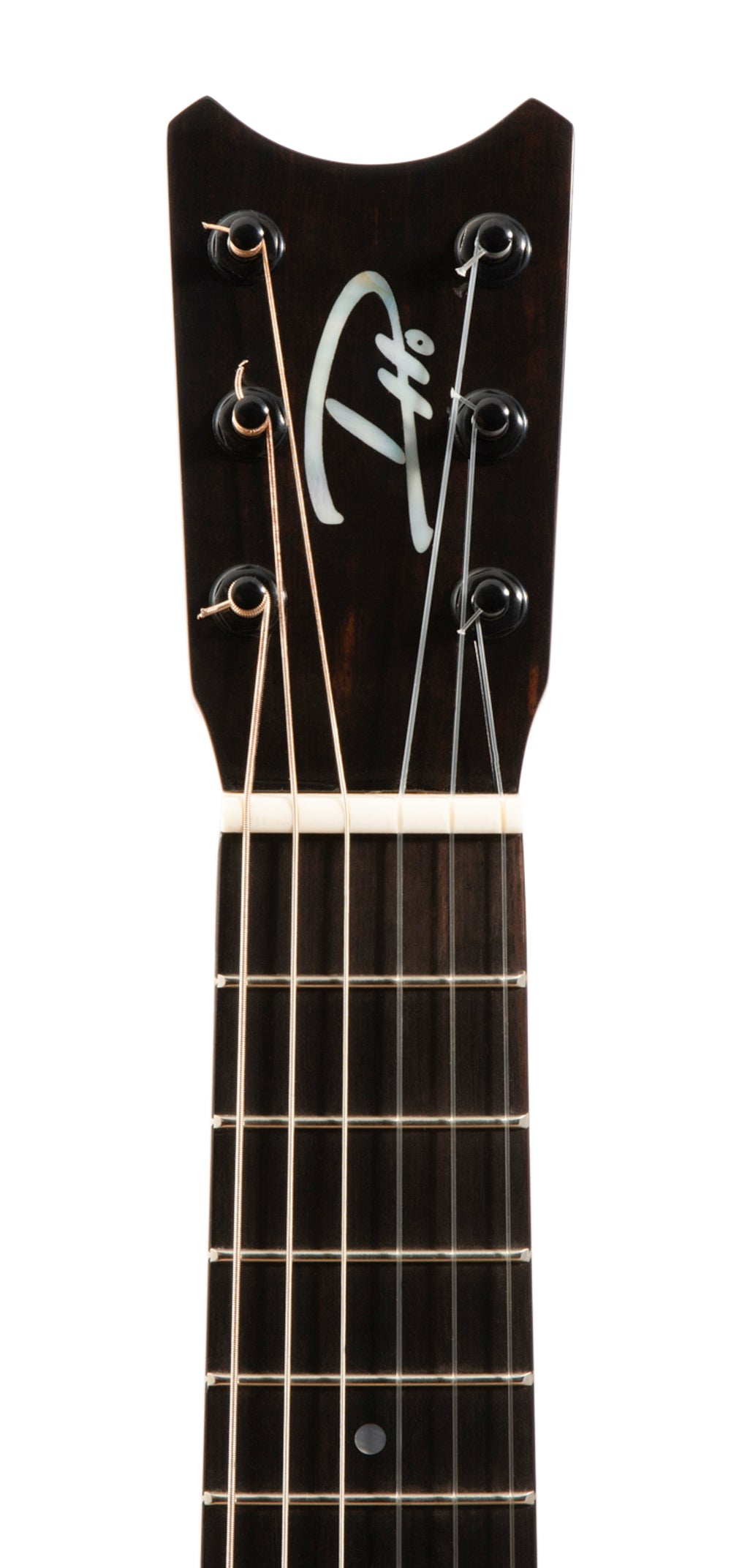 "Romero Creations RC-TT6-K Tiny Tenor 6 String Koa Guilele ""Athena"" Tuned A to A"