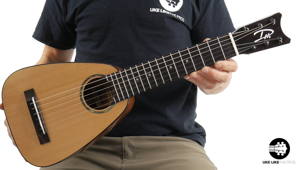 "Romero Creations Tiny Tenor 6 String Guilele Daniel Ho Signature RC-TT6-SM ""Bonzi"""