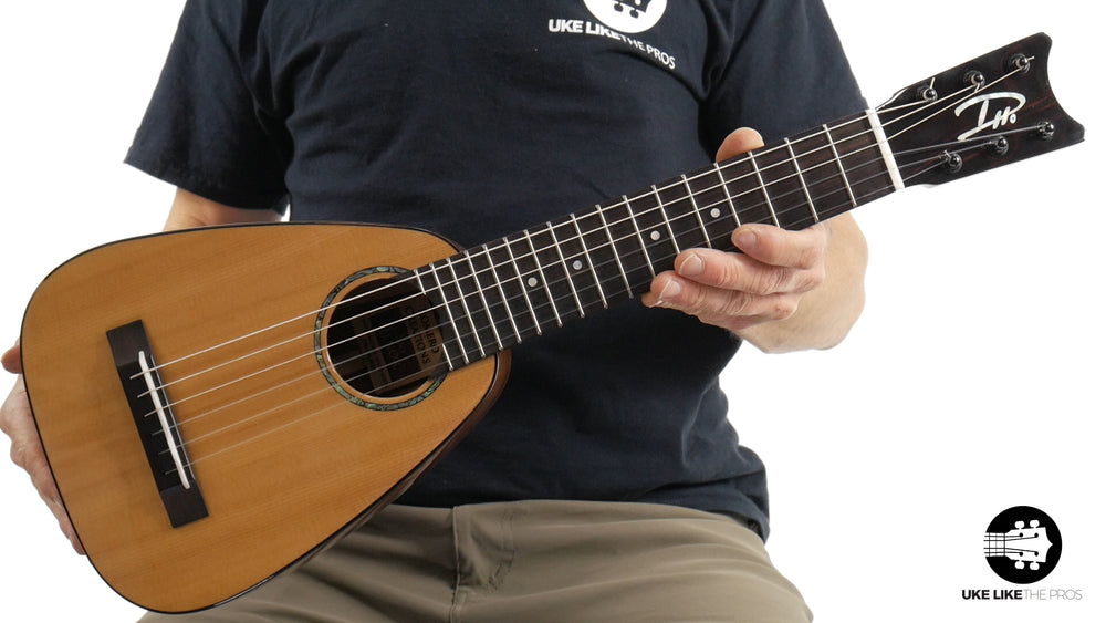 "Romero Creations Tiny Tenor 6 String Guilele Daniel Ho Signature RC-TT6-SM ""Point Break"""