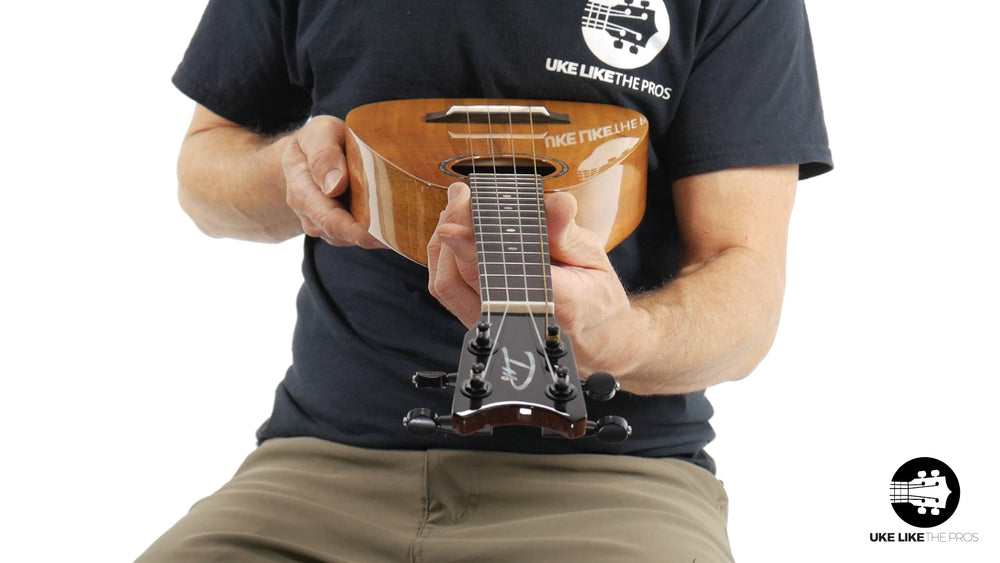 "Romero Creations Tiny Tenor Koa Ukulele w/Case RC-TT-K ""Carmel"""