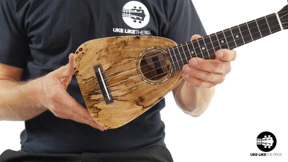 "Romero Creations XS Soprano Ukulele Spalted Mango RC-XS-MG ""Spalted Sea"""